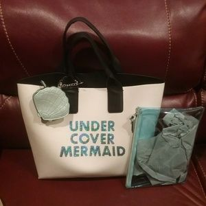 "Handbags - NWT ""Under Cover Mermaid"" Tote  Final Price"